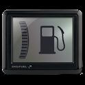 Consumo di carburante digitale icon
