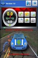 Screenshot of Sensor Viewer Driver Droid