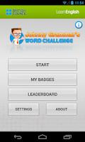 Screenshot of Johnny Grammar Word Challenge