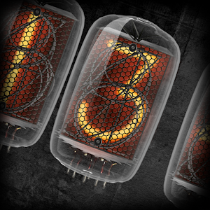 Animated Nixie clock widget.apk 1.02
