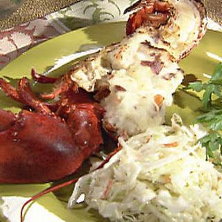 Steamed Lobsters.
