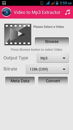 MP3コンバータへのビデオ
