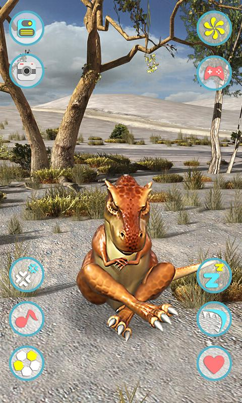 Talking Tyrannosaurus Rex - screenshot