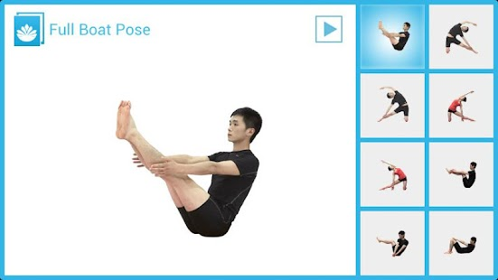 Seated Yoga Routine - screenshot thumbnail
