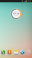 Screenshot of RoundClock