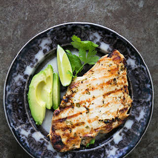 Grilled Cilantro Lime Chicken.