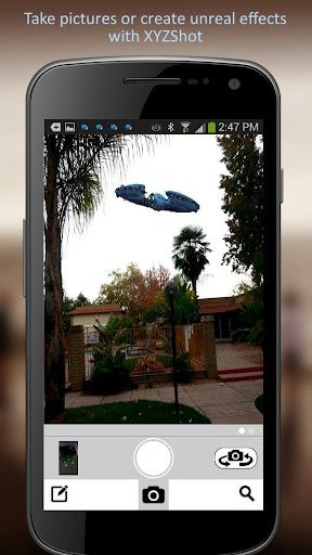 XYZ Shot - Augmented reality