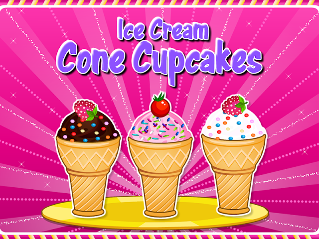 android Cooking Ice Cream Cone Cupcake Screenshot 4