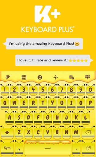 ミツバチのキーボード