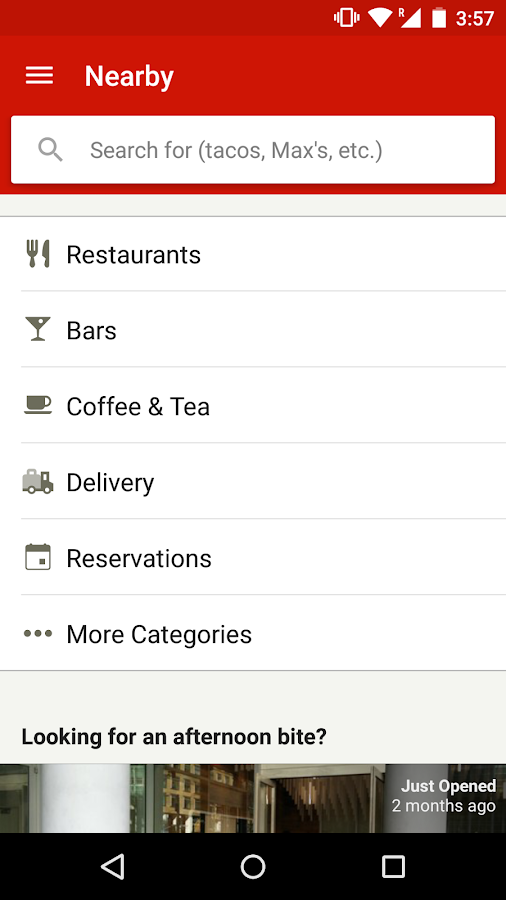 Yelp- screenshot