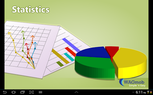 Statistics by WAGmob - screenshot thumbnail