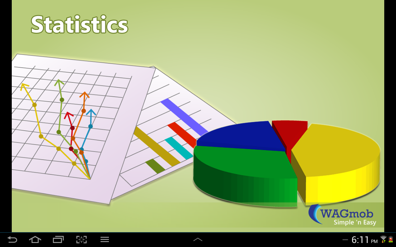 Statistics by WAGmob - screenshot