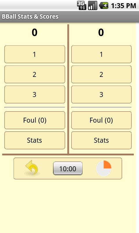 Basketball Stats & Scores - screenshot