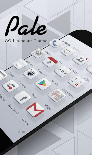 Pale GO Launcher Theme