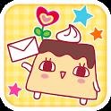 プリンのプリリンちゃんdeデコメ icon