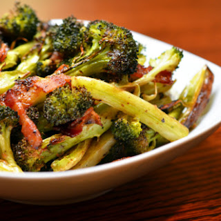Roasted Broccoli & Bacon.