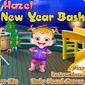 Baby Hazel Ice Castle New Year