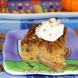 Pumpkin Pie Crunch Kugel.