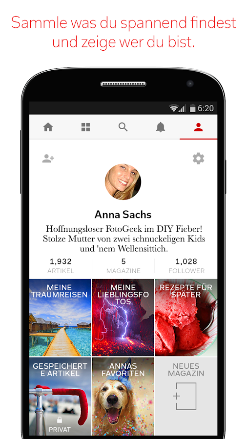 Flipboard - screenshot