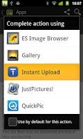 Screenshot of Instant Upload