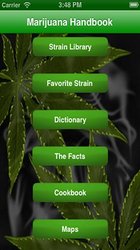 Marijuana Handbook- Weed Guide