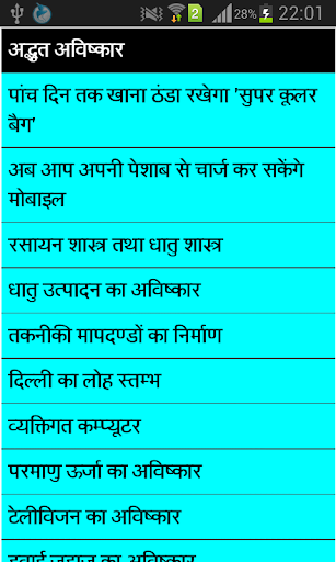 Great Inventions in hindi