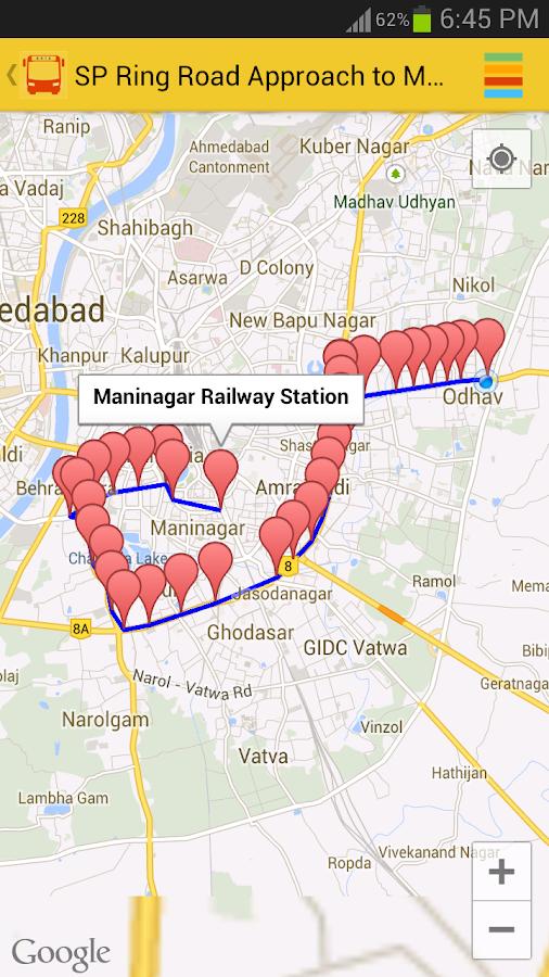 Janmarg BRTS Ahmedabad- screenshot