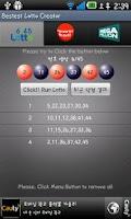 Screenshot of World Best Lottery Creator