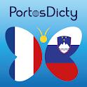 PortosDicty Fra-Slo icon