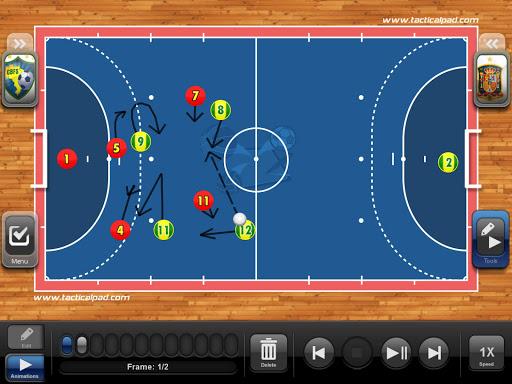 TacticalPad Futsal Hand Pro