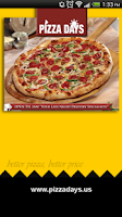 Screenshot of Pizza Days