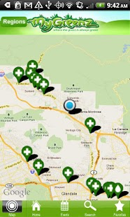 Marijuana - MyGreenz Locator - screenshot thumbnail
