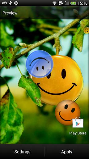 微笑 動態壁紙