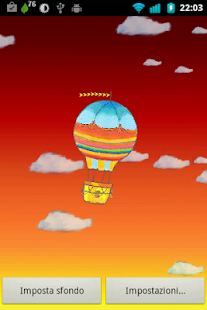 Hot Air Balloon Live Wallpaper- screenshot thumbnail