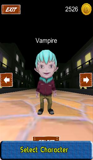 Vampire Run Game