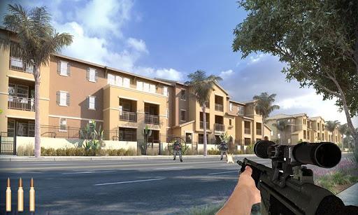 Commando modern sniper war