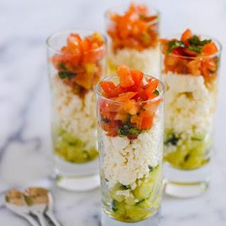 Feta Salad Shooters