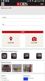 DBS mBanking - screenshot thumbnail