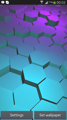 Honeycomb 3D Live Wallpaper
