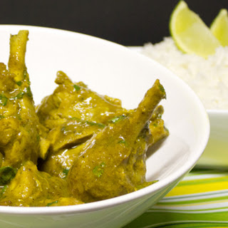Trinidad-Style Curry Chicken.