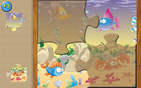 Kids Sea Animals Jigsaw Puzzle- screenshot thumbnail