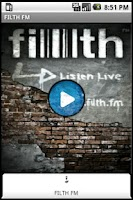 Screenshot of FILTH FM