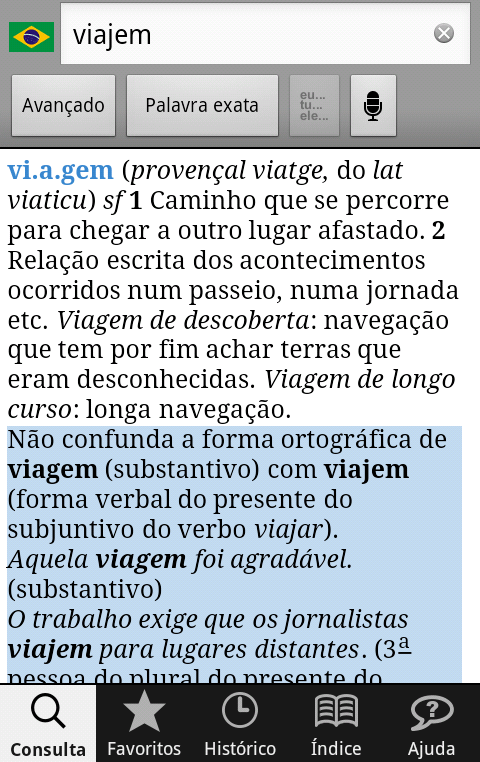 Michaelis Conciso Português - screenshot