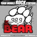 98.9 The Bear – ROCK Station logo