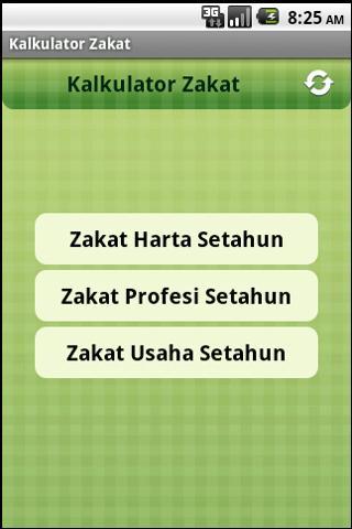 Kalkulator Zakat- screenshot