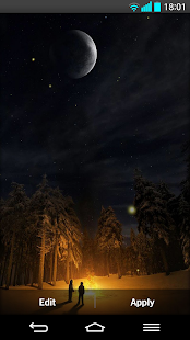 Fireflies Live wallpaper - screenshot thumbnail