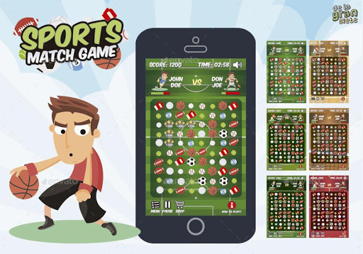 Top Sports Match Game Pro
