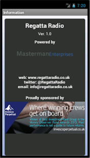 Regatta Radio - screenshot thumbnail