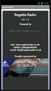 Regatta Radio - screenshot thumbnail