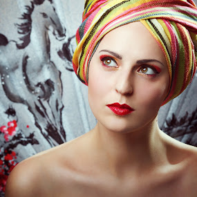 Egle by Mindaugas Navickas - People Portraits of Women ( studio, fashion, mindaugas navickas, colors, woman, beauty, portrait, fotomindo,  )